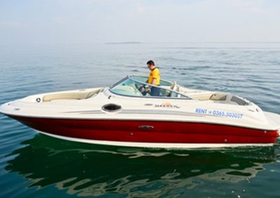 Rappydrive Boat Rental - Sea Ray 240 Sun Deck